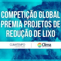 Competição global premia projetos de redução de lixo