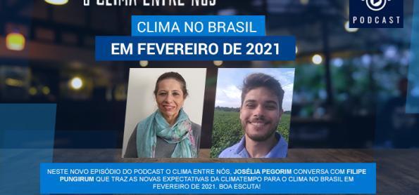 Clima no Brasil em fevereiro de 2021