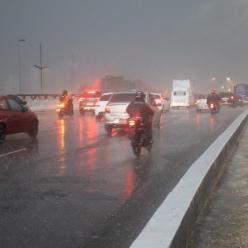 Risco de chuva forte aumenta até o fim de semana em SP