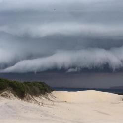 Atenção para mais chuva forte na Grande Florianópolis