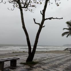 Semana de muita chuva no PR e em SC