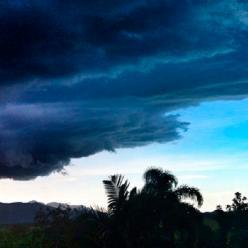Março começou com muita chuva em Florianópolis