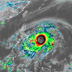 Tufão Surigae segue ganhando força neste fim de semana