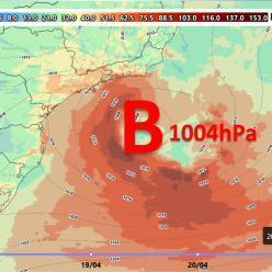 Novo ciclone subtropical poderá se formar na costa brasileira