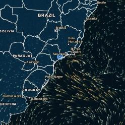Marinha do Brasil classifica nova tempestade subtropical Potira