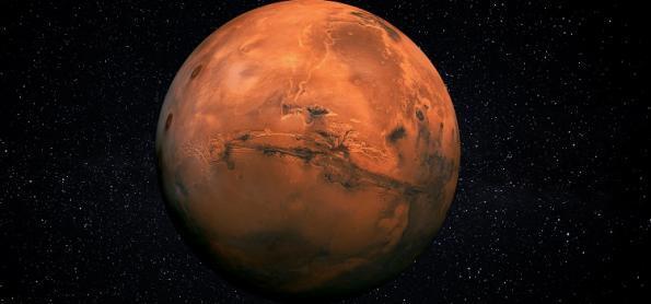 O vai e vem do planeta Marte