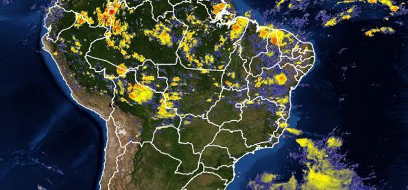 Ciclone subtropical se intensifica na costa entre SC e RJ