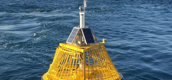 Mudanças nas medições de temperatura da superfície do mar