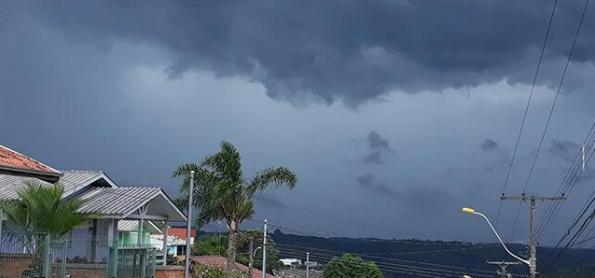 Ciclone extratropical no fim de semana