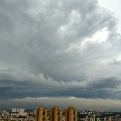 Chuva e vento fortes em São Paulo e Rio de Janeiro