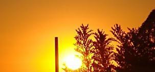 Calor no centro-sul do Brasil