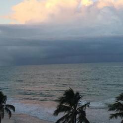 Chuva aumenta na costa leste do Nordeste nesta terça-feira