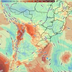 Ciclone na Região Sul: Há chance de ser um ciclone bomba?