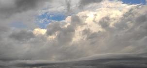 Forte frente fria traz chuva para vários estados brasileiros