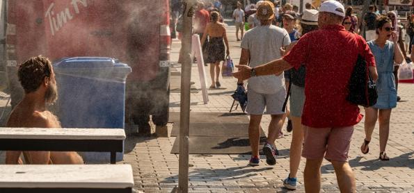 Mudança climática agravou onda de calor na América do Norte