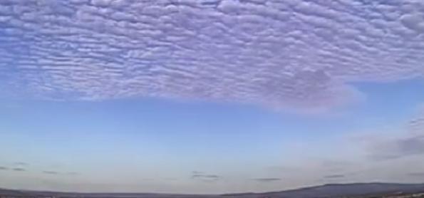 Nuvens curiosas de Juazeiro de Norte (CE) e de Gramado (RS)
