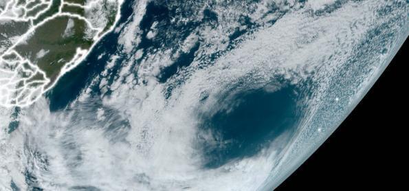 O curioso buraco que se formou sobre o Atlântico Sul