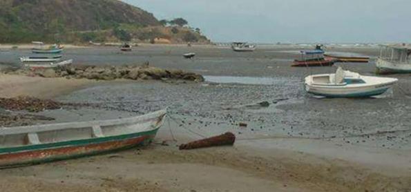 Recuo do mar em Caraguatatuba não está associado a tsunami