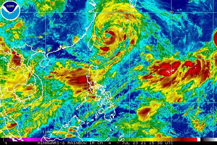 Tempestade Tropical - NOAA