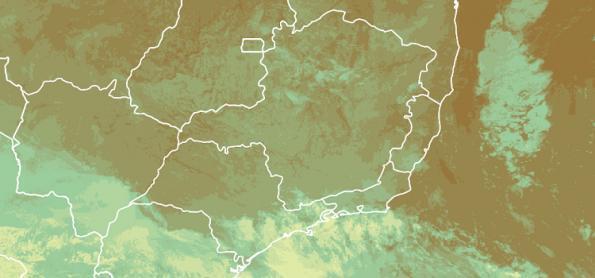 Chuva aumenta no litoral de SP, PR e SC