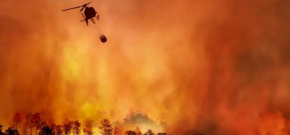 Aumenta o risco de morte por incêndios florestais