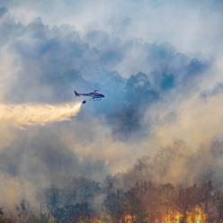 Com volta da chuva, índice de queimadas despenca no Centro-Oeste