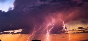 Setembro termina com tempestade e ventania no Sul do Brasil