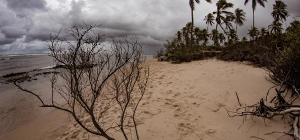 Tempo segue instável no litoral da Bahia neste fim de semana