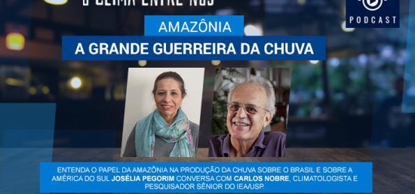 Amazônia: a grande guerreira da chuva