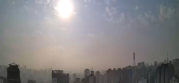 Quarta-feira de calor intenso em SP