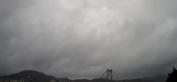Atenção para chuva forte em SC e PR