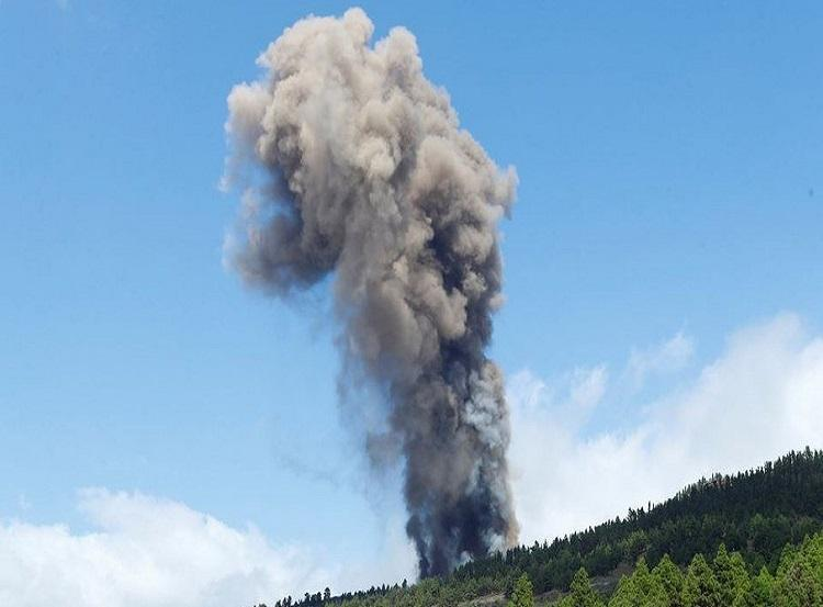 Vulcão Cumbre Vieja entra em erupção. Foto: Reprodução