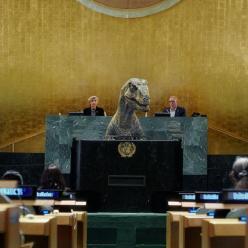 Apelo jurássico na ONU: não escolha a extinção