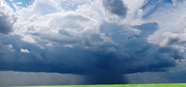 Muitas pancadas de chuva em quase todo o Brasil
