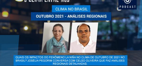 Clima no Brasil e outubro de 2021
