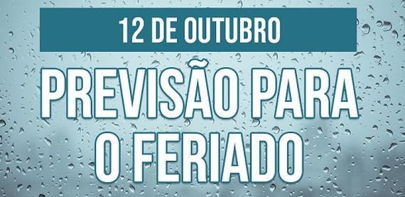 Feriadão de 12 de outubro será marcado por temporais no Brasil