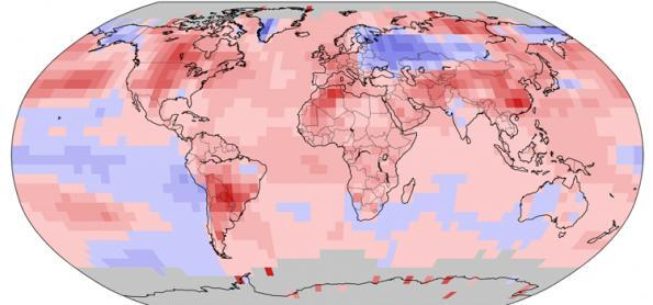 Novos recordes de calor e seca, diz NOAA