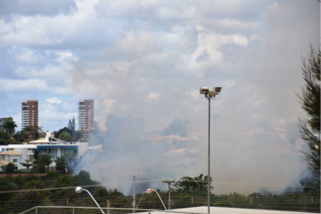 Fumaça geral em Vitória da Conquista - BA