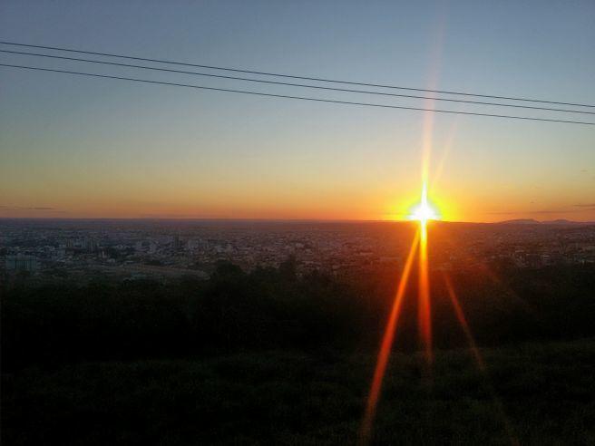 Pôr do sol em Vitória da Conquista