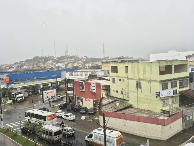 Tempo chuvoso no sul da Bahia