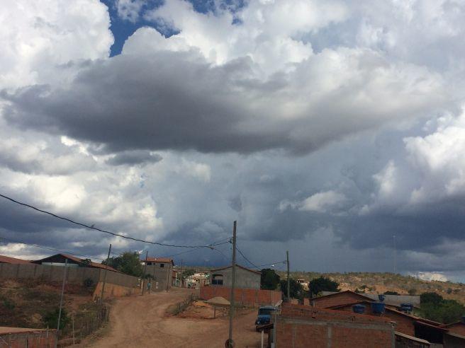 Chuva chegando em Bem-Querer município de Riacho Dos Machados