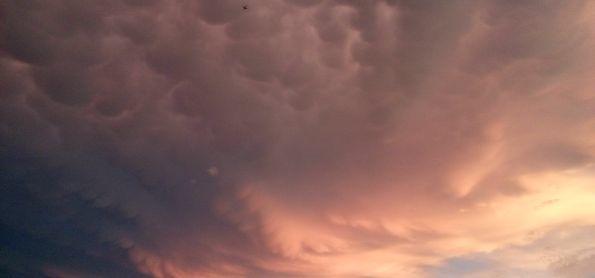 O Céu dps do Temporal em Campos Elíseos
