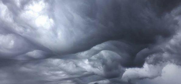 Nuvens Impressionantes em Lagoa da Prata