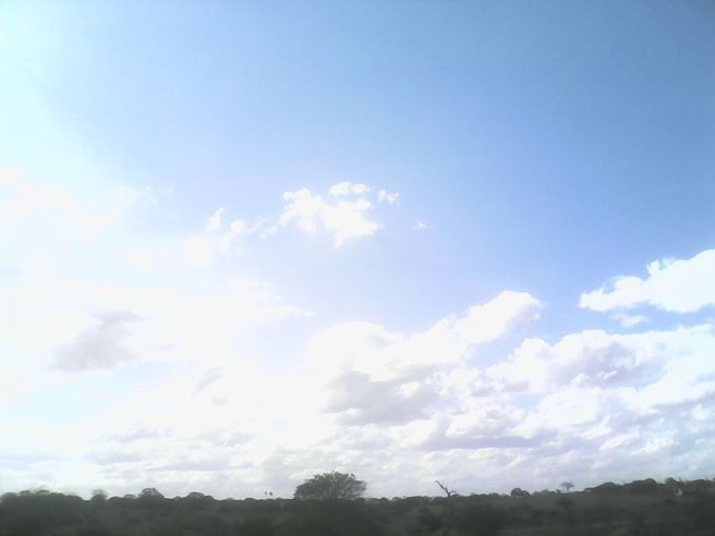 Céu Aberto sem Nuvens