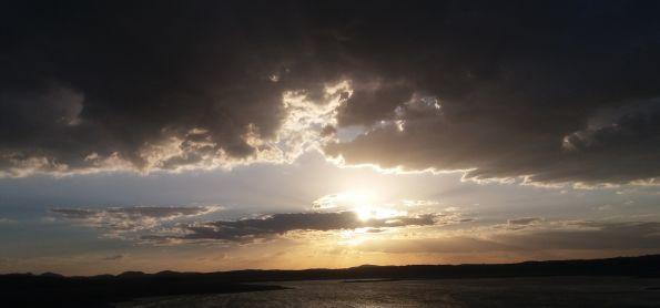 Pôr do sol em Feiticeiro Ceará