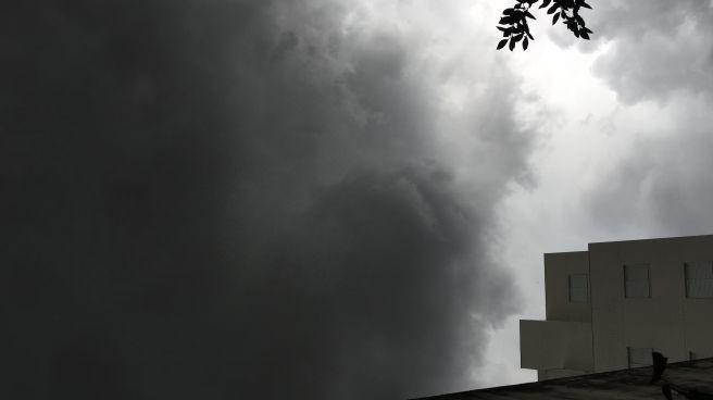 Forte chuva e tempestade de granizo em MONTES CLAROS MG