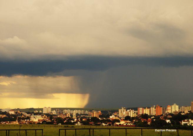 Tempestade se aproximando de São Carlos SP 13/01/2018