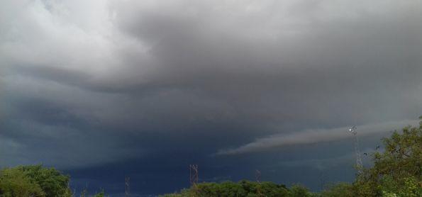 Chuva no interior da Bahia