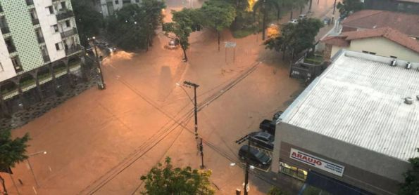 Dilúvio arrasa BH