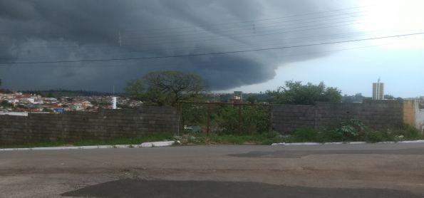 Chuva chegando em Itapeva-Sp